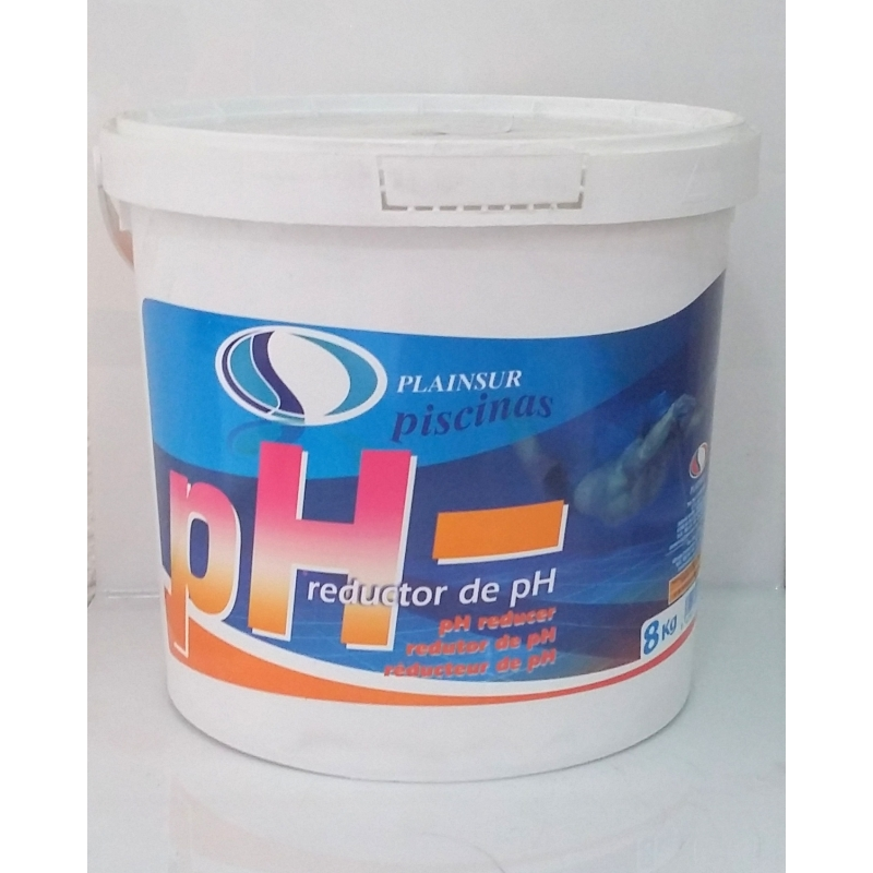 Reductor del ph del agua de la piscina ph plastiform s a for Subir ph piscina