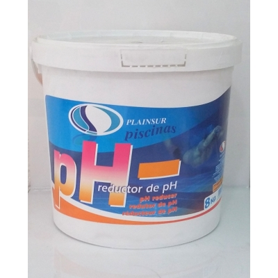 Reductor del PH del agua de la piscina. PH -
