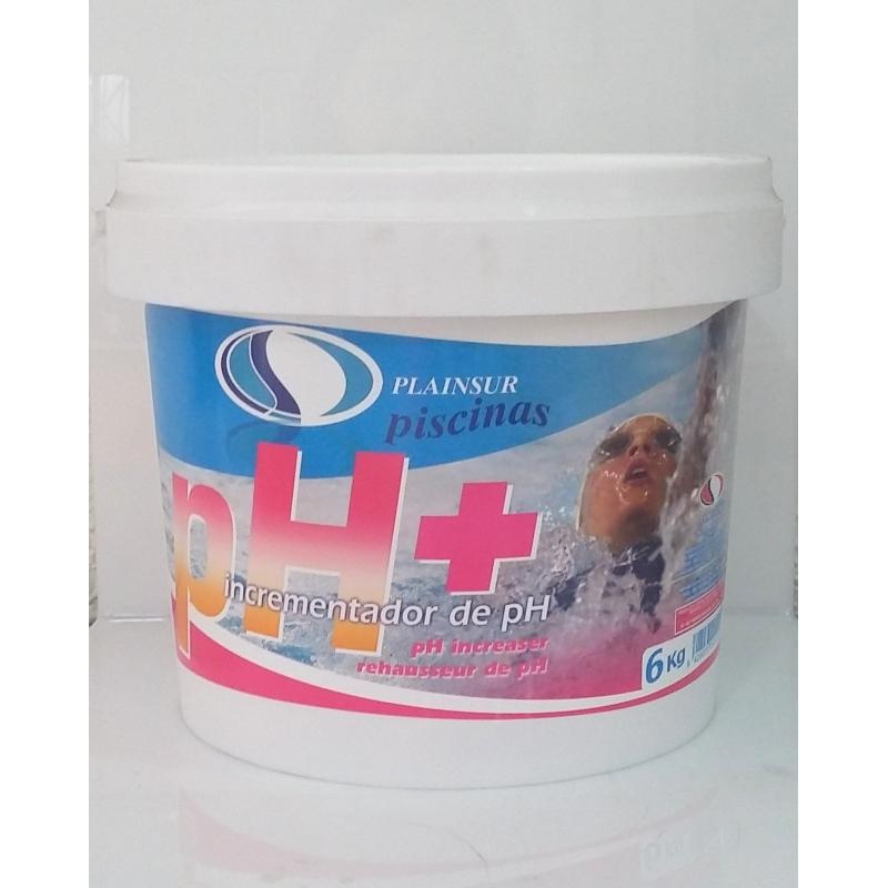 Ph mas en polvo sube el ph del agua de la piscina for Subir ph piscina