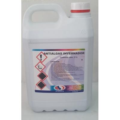 Antialgas invernador. Algicida y bactericida de larga duración. Para el mantenimiento de la piscina durante el invierno