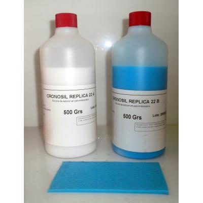 CRONOSIL REPLICA 22. Silicona de duplicación rapida.