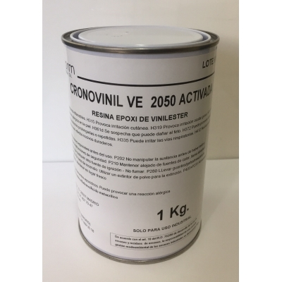 Cronovinil VE 2050 act. Resina vinilester. NO INCLUYE EL CATALIZADOR.
