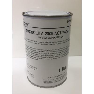 Cronolita 2009 Act. Alta resistencia química y térmica. NO INCLUYE EL CATALIZADOR.