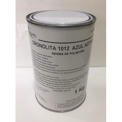 CRONOLITA 1012 act. azul. Para PISCINAS . NO INCLUYE EL CATALIZADOR.
