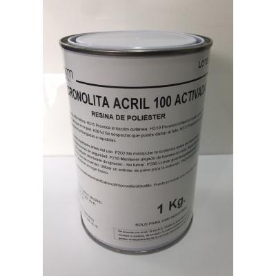Resina que no ataca el corcho Cronolita Acril 100