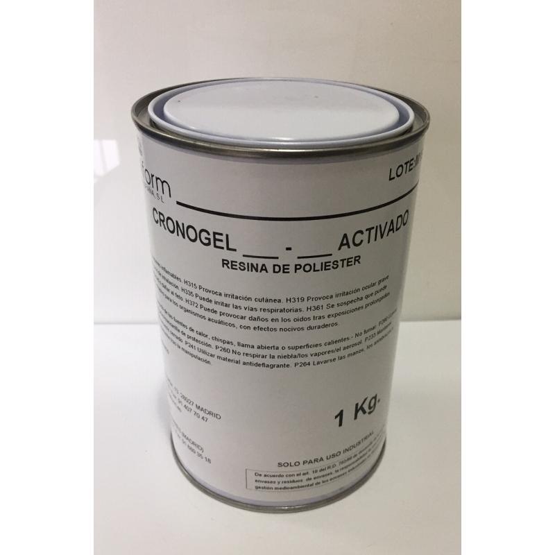 CRONOGEL. Gelcoat primera capa moldes. NO INCLUYE EL CATALIZADOR.