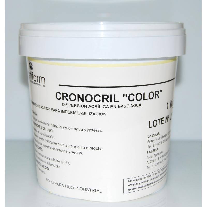 Cronocril (Rojo, Negro, Gris, Blanco, Ocre)