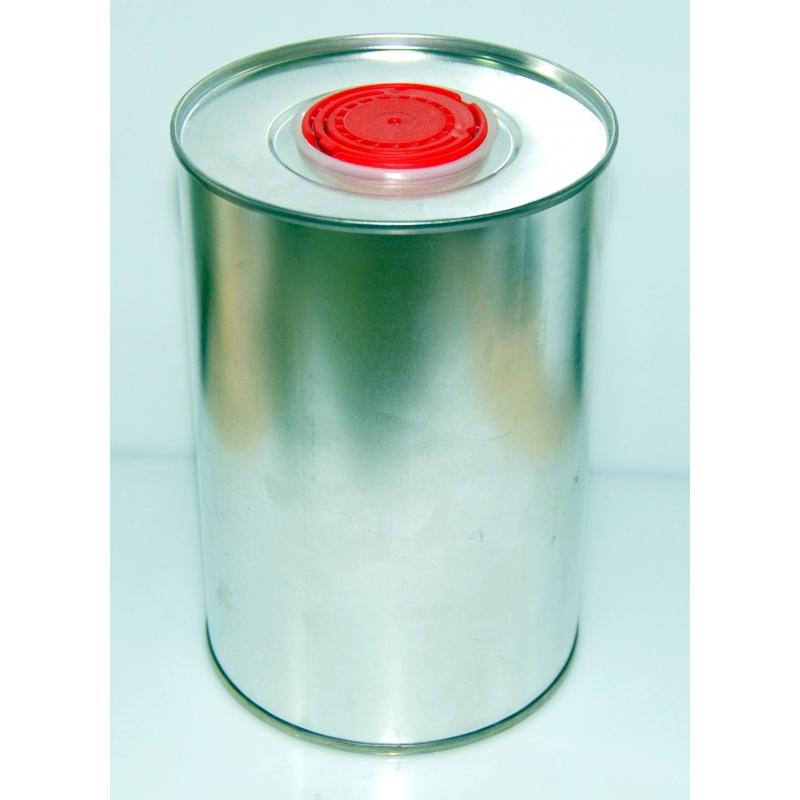 Envase metálico Cilindrico tapon plastico 250 cc